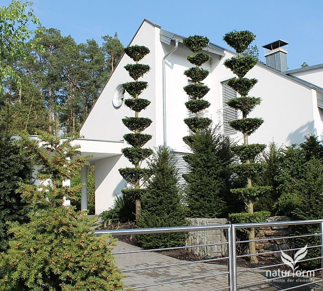 Pagoden als Blickfang, Gartengestaltung Bayreuth