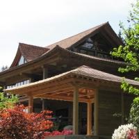 Japangarten incl. Japanischer Gartenpavillon und Koiteich,