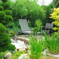 Japanärten sind auch Wellnessgärten