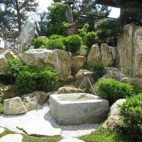 Tsukubai Japangarten Sachsen Anhalt
