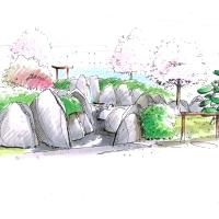 Japangarten Landesgartenschau Bayreuth Planung Jethro Machacek
