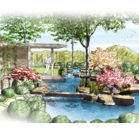 Japanischer Garten Naturform 2015