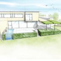 Moderne Gartenarchitektur 2014 Naturform