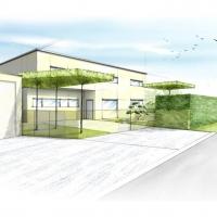 Moderne Gartenarchitektur Ausführung 2014 Naturform