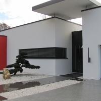 Bonsai im Eingangsbereich