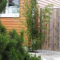 Bambuselement Zen Garten