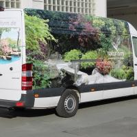 Japangarten und Koiteich Pflege- Transporter