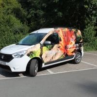 Neues Pflege Fahrzeug, Garten-Architektur Fahrzeug