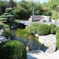 Japangarten mit Koiteich Kronach