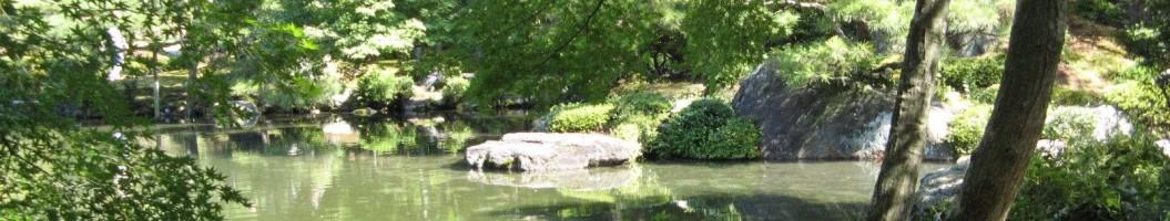 Japanischer Garten in Kyoto